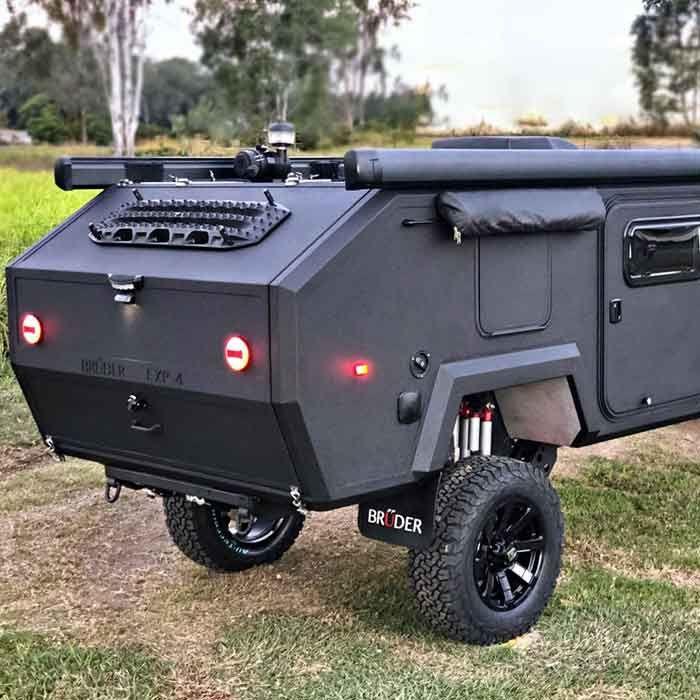Extreme Off Road Camper Trailer Mini Casa Rodante Remolques De