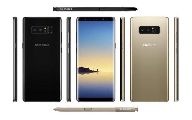 Se filtran los fondos de pantalla para el Samsung Galaxy Note 8