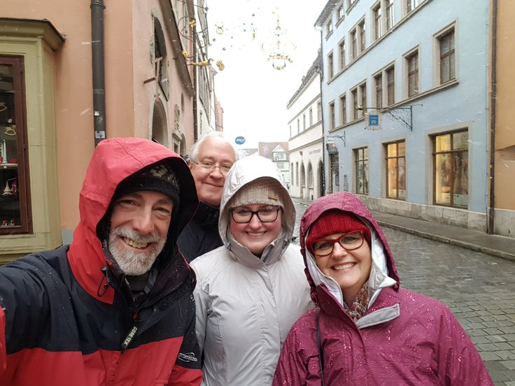 Nuremberg Tours in English with #HappyTourCustomers in Rothenburg ob der Tauber