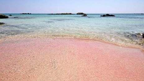 Οι οκτώ πιο όμορφες ροζ παράλιες - Οι δυο στην Κρήτη! [ΦΩΤΟ] | TVXS - TV Χωρίς Σύνορα