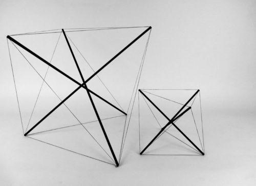 icancauseaconstellation:  Bruno Munari, Tensostrutture, 1990
