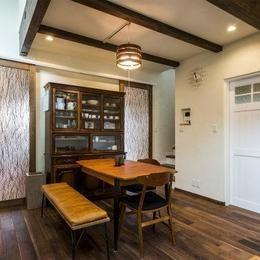 将来は自宅でカフェを開く、おもてなしの家の部屋 リビング