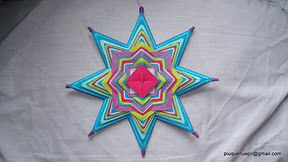 .: mandalas trip :.: Taller mandalas de Hilo. Primer Sendero. Tejer Mandalas.