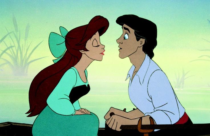 ARIEL et son PRINCE ERIC (La Petite Sirène) - © Disney  #Ariel #Eric