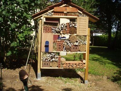 Hôtel à insectes : des idées de plans - Le concombre masqué jardinier !