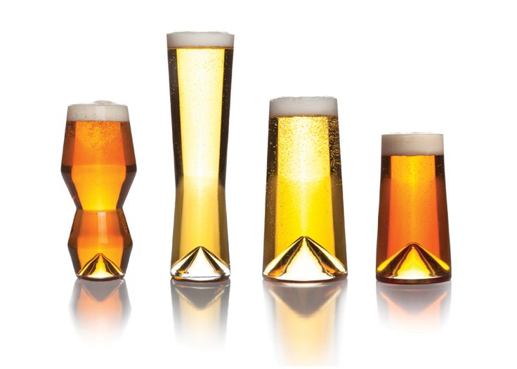 Los Angeles design brand Sempli has launched a set of glasses designed for enjoying different types of craft beer