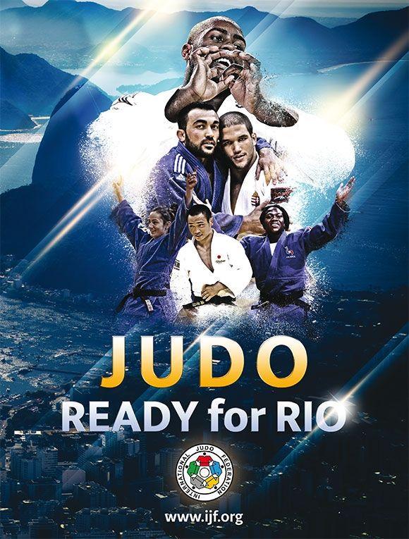 Teddy Riner (FRA), Krisztian Toth (HUN), Ilias Iliadis (GRE), Clarisse Agbegnenou (FRA), Majlinda Kelmendi (KOS), Masashi Ebinuma (JPN) - Olympic Games Rio de Janeiro (2016, BRA) - © IJF Media Team, IJF