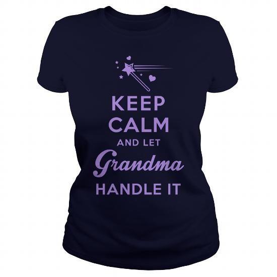 Awesome Tee Keep Calm Grandmas Here Shirts & Tees
