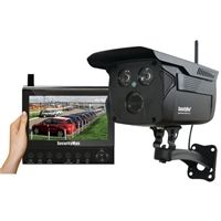 SECURITYMAN DIGIOUTLCD 4-CH Wireless System w/ Recorder & Outdoor Security Camera