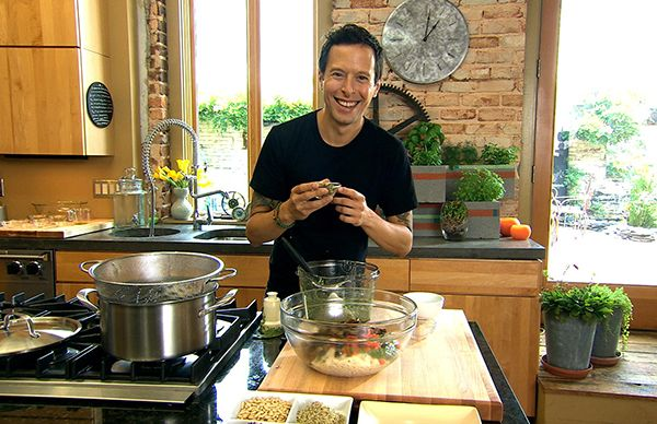 "Holiday Maca Eggless Nog, from Raw for the Holidays | Raw Food Recipe from Jason Wrobel, host of Cooking Channel TV series ""How To Live to 100"" 