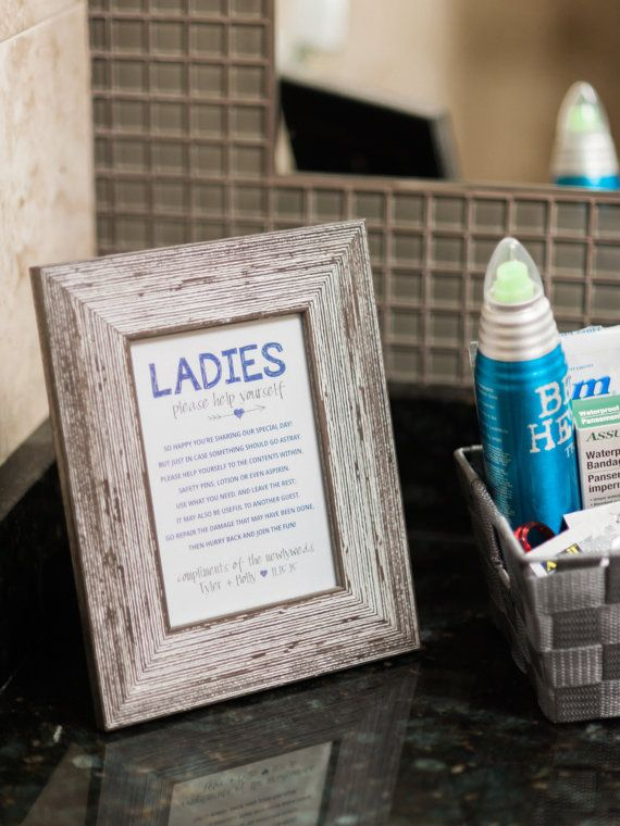 Bathroom Decorations For Wedding : Best ideas about wedding toiletry basket on