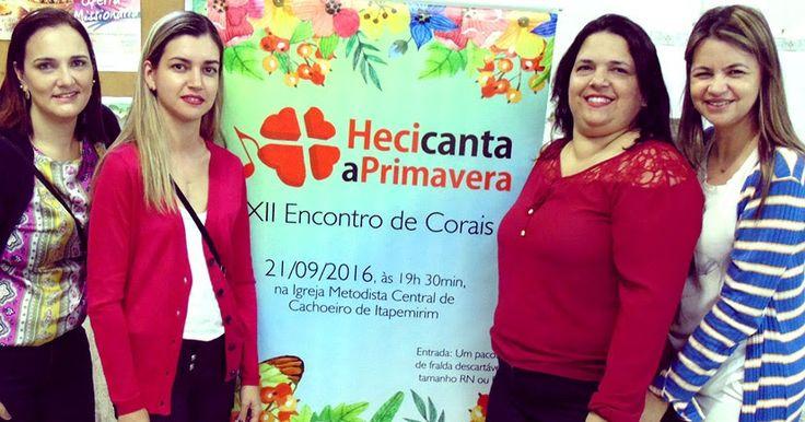"""Coluna do Elyan  Sexta,  30.9.16    GENTE NOSSA EM DESTAQUE   O grande sucesso da promoção do Hospital Evangélico denominada de """"HECI Canta ..."""