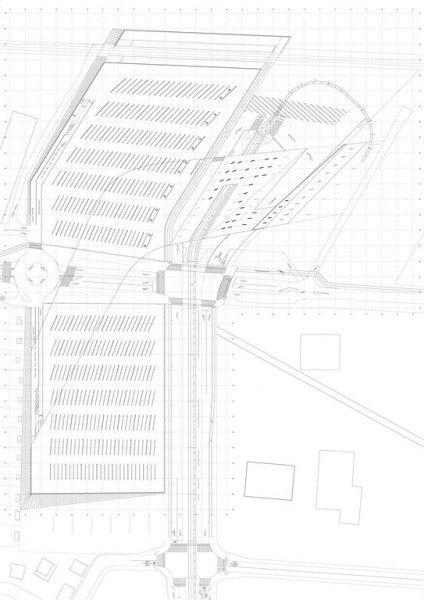 zaha hadid architects terminus hoenheim nord strasbourg zaha hadid pattern pinterest. Black Bedroom Furniture Sets. Home Design Ideas