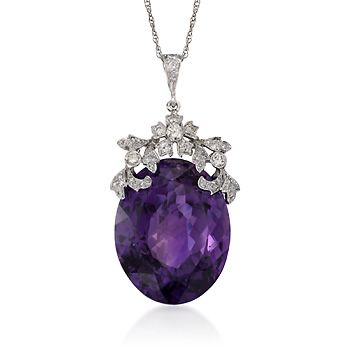 Amethyst and Diamond