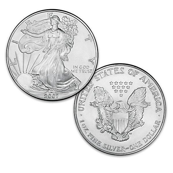 The Last Ever Original Silver Bullion Eagle Dollar Coin In 2020 Silver Bullion Coins Dollar Coin
