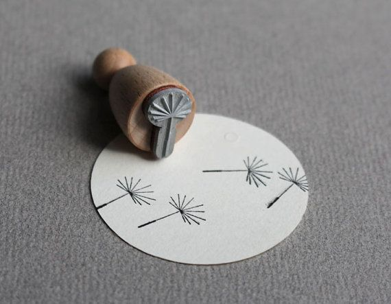 This stamp is made of coated beechwood and premium laser cut rubber which is mounted on an interjacent resilient rubber-foam layer.  Size: 11 mm x
