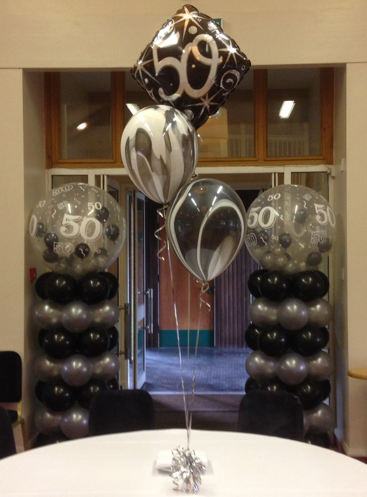 96 best images about 50th birthday on pinterest black for 50th birthday decoration ideas