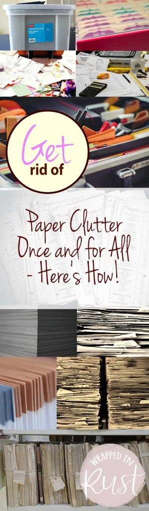 Top 25 best office organization tips ideas on pinterest for Best way to get rid of clutter