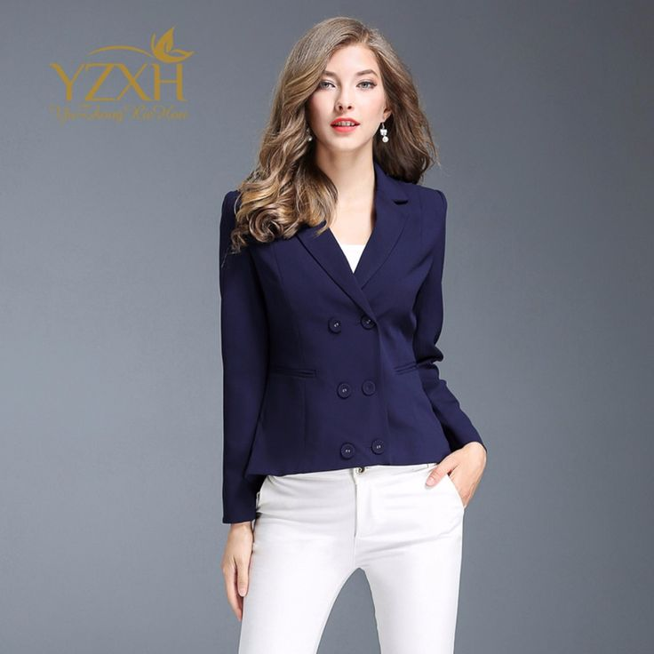 Bts 2018 spring new lapel buttons coat Pleated slim short paragraph suit jacket Official website big-name women female jacket. Yesterday's price: US $84.79 (69.50 EUR). Today's price: US $56.81 (46.87 EUR). Discount: 33%.