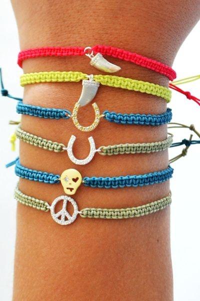 Peace String Bracelet | STYLEADDICT.COM.AU