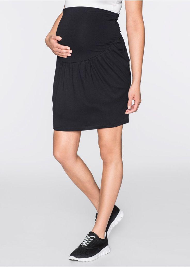 Din material elastic, ce se simte plăcut la purtare, Cute laterale şi un croi confortabil, potrivit pentru perioada de sarcină. Un model de vară pentru o ţinută feminină. Material superior: 95% viscoză, 5% elastan