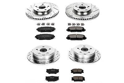 Disc Brake Pad and Rotor Kit Front Rear POWER STOP K4099