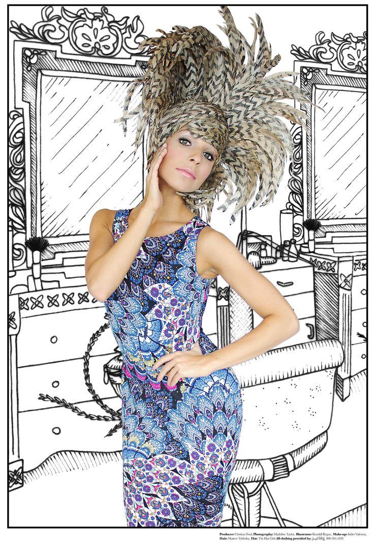 Miss America 2015 Kira Kazantsev wearing Joseph Ribkoff.