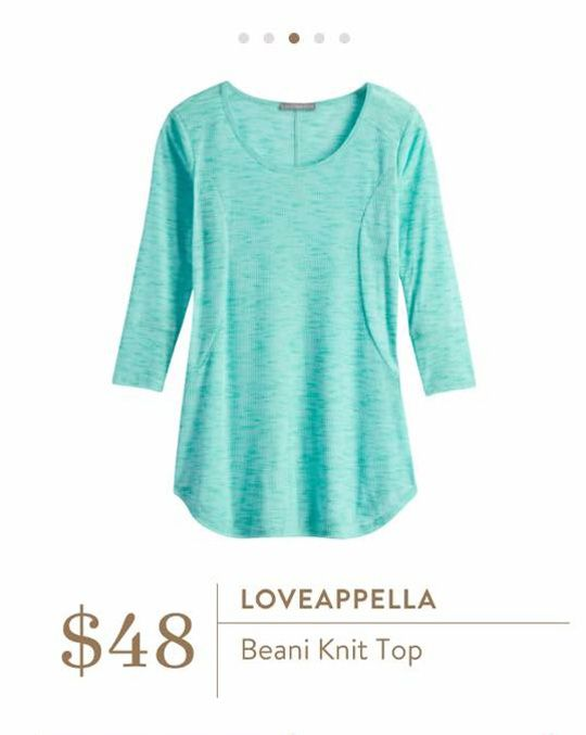 Stitch Fix: Loveappella Beani Knit Top - perfect casual knit top to ease into fall. Love the color.
