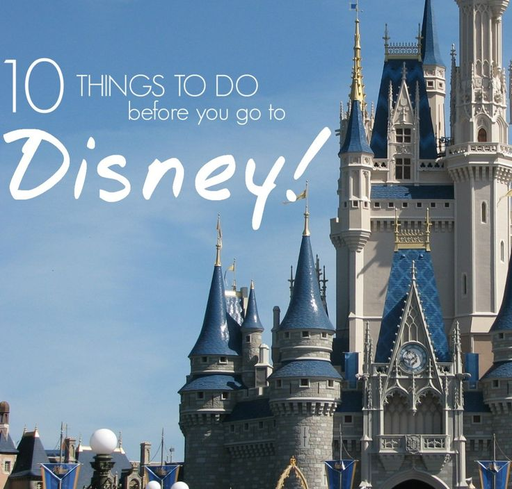 10 Things to Do Before you go to Disney! Disney Tips for Saving Money!