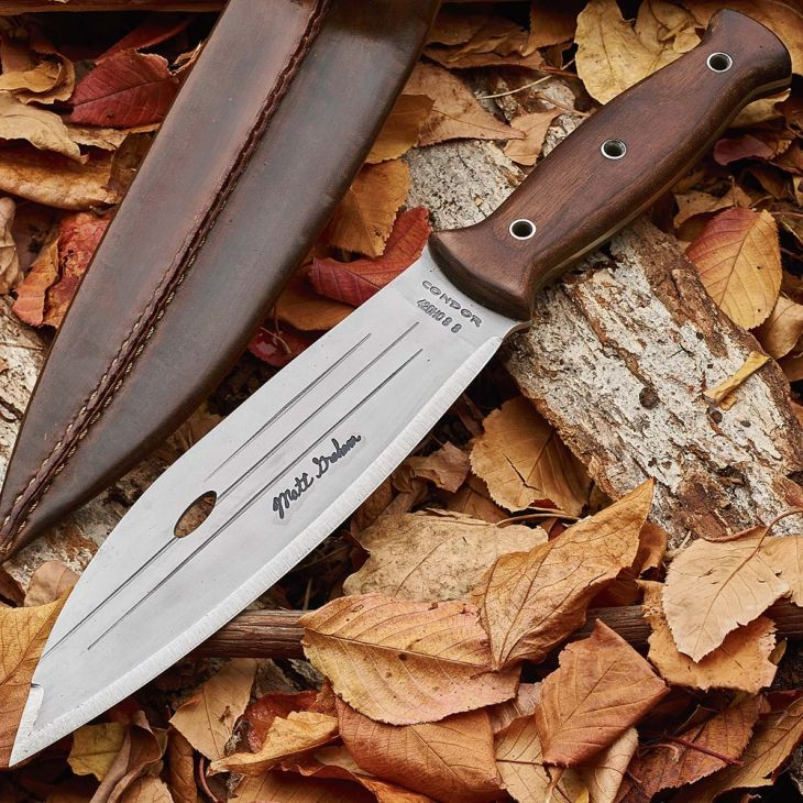 A True Survivalist's Sheath Knife CUSTOM DESIGNED BY MATT GRAHAM