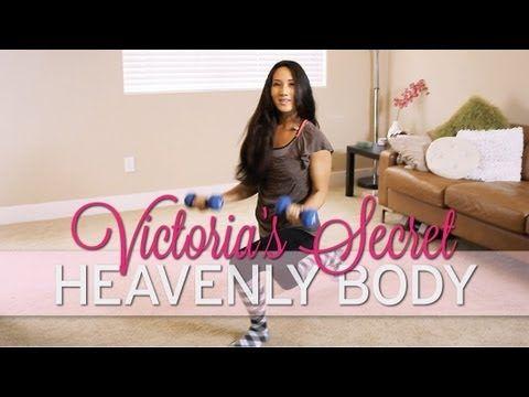 Victoria's Secret Workout: Heavenly Body - YouTube