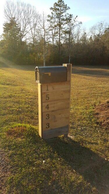 Modern Rustic Mailbox
