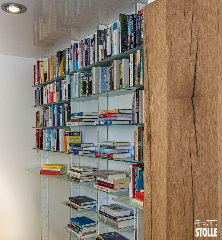 9 besten Bücherregal und Bücherwand - schwebende Bibliothek für ...