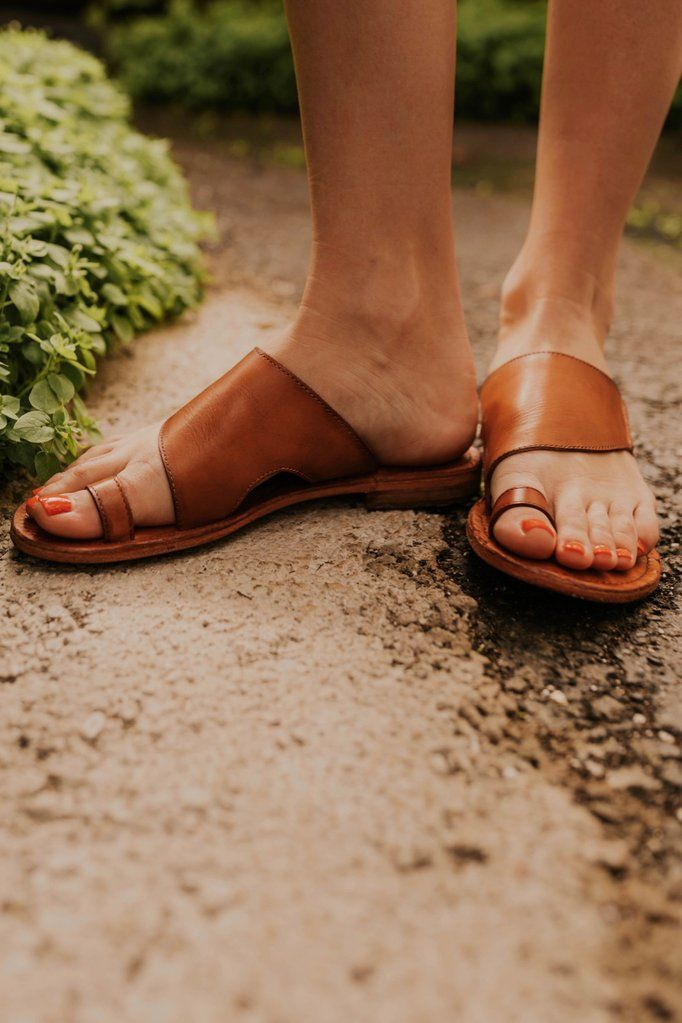 Free people sandals, Leather sandals