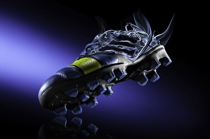 #commercial #photography #shoes #football #soccer #smoke #dynamic #adidas #nitrocharge