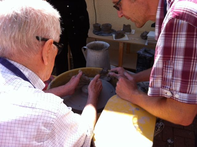 Making 75 pots on the pottery wheel #art and #craft