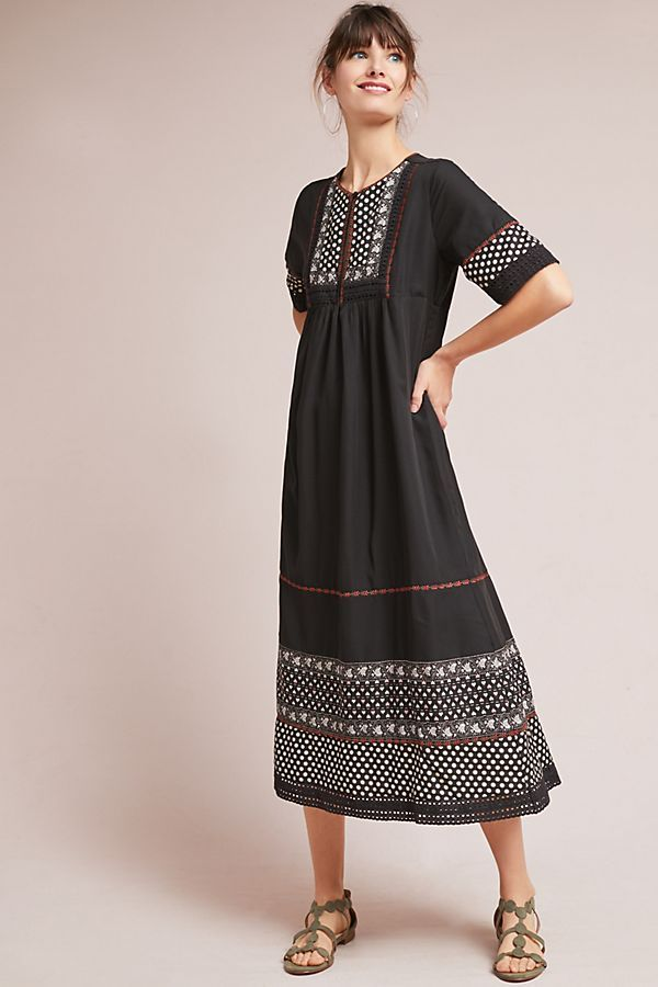 Slide View: 1: Nash Peasant Dress