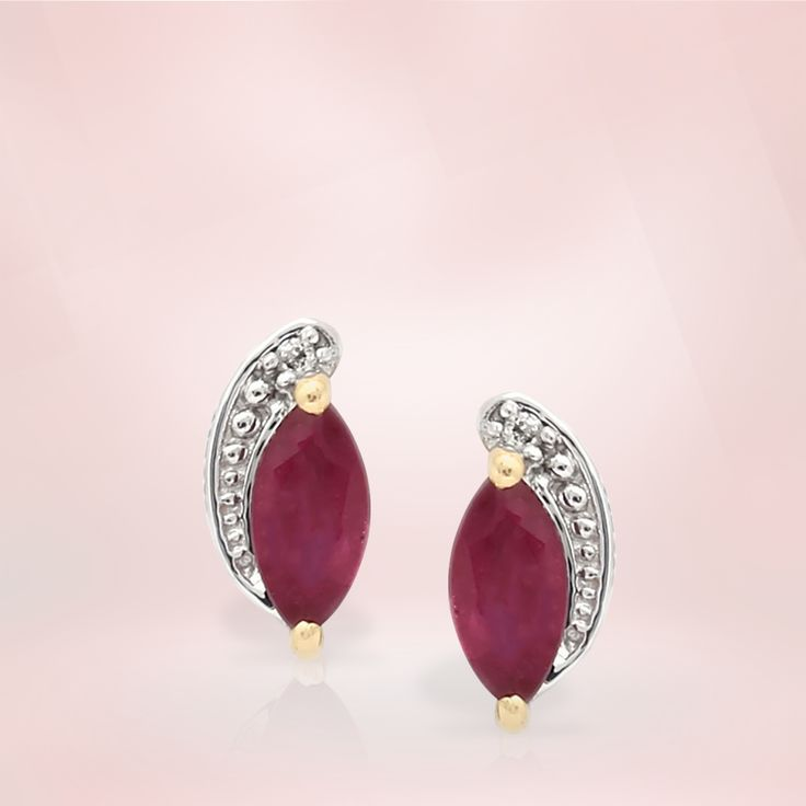 Ruby Earrings | Gemporia India