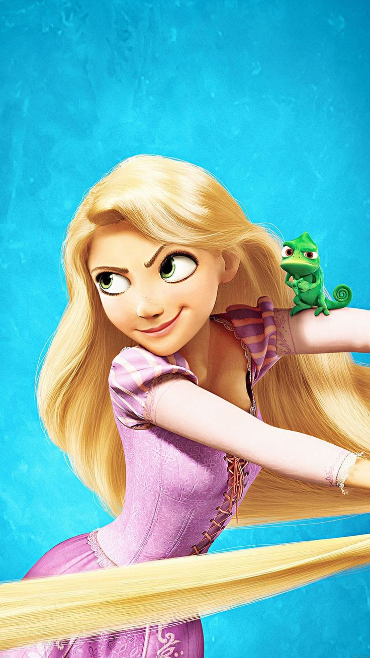 Tap image for more iPhone Disney wallpaper! Tangled Princess Rapunzel - @mobile9 | Wallpapers for iPhone 5/5s, iPhone 6 & 6 plus
