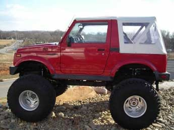 Jeep Cars Pictures >> lifted suzuki samurai | 1995 suzuki samurai with 5 lift accomplished with a spring over 4 bds ...