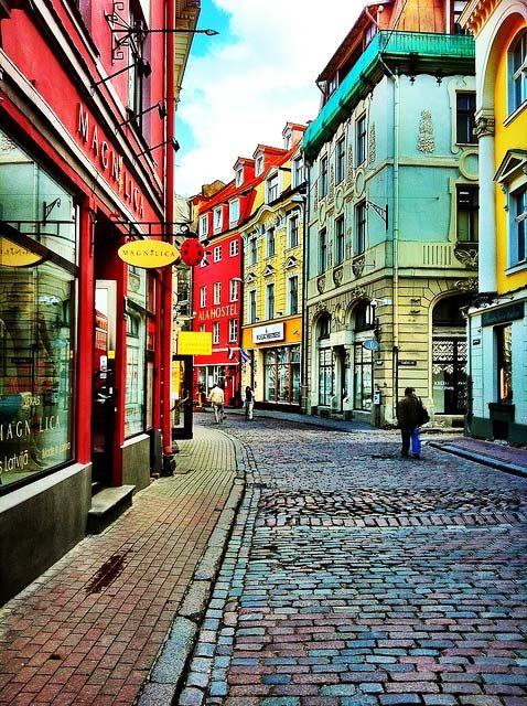 Old Town , Riga