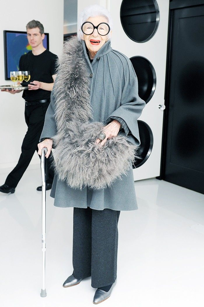 10+Holiday+Party+Accessory+Ideas+From+Iris+Apfel+via+@WhoWhatWear