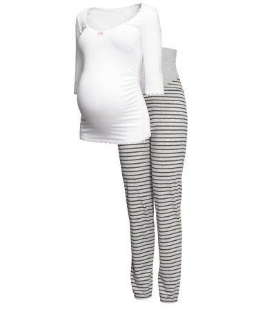 MAMA Jersey Pajamas | H&M US $29.95 size small