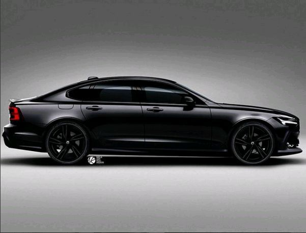 Volvo S90 Lease >> S90 envisioned in DV black by Niels van Roij Design.