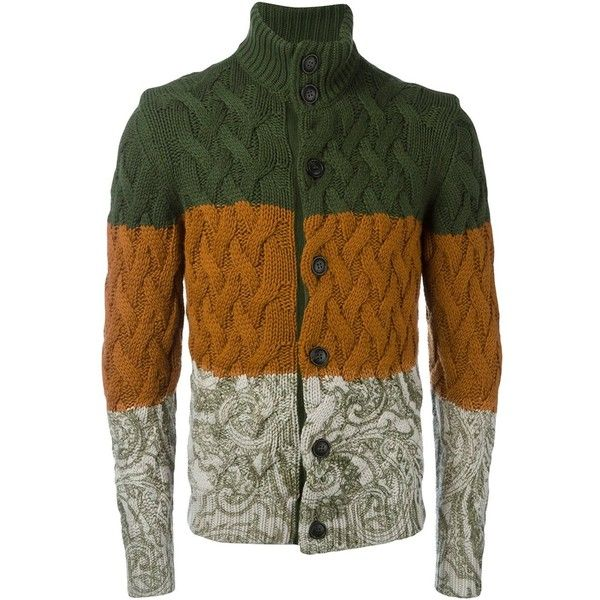 Etro cashmere 'Bomber' cardigan (136.945 RUB) ❤ liked on Polyvore featuring men's fashion, men's clothing, men's sweaters, green, mens green sweater, mens colorful sweaters, mens cashmere cardigan sweater, mens cashmere sweaters and mens cardigan sweaters