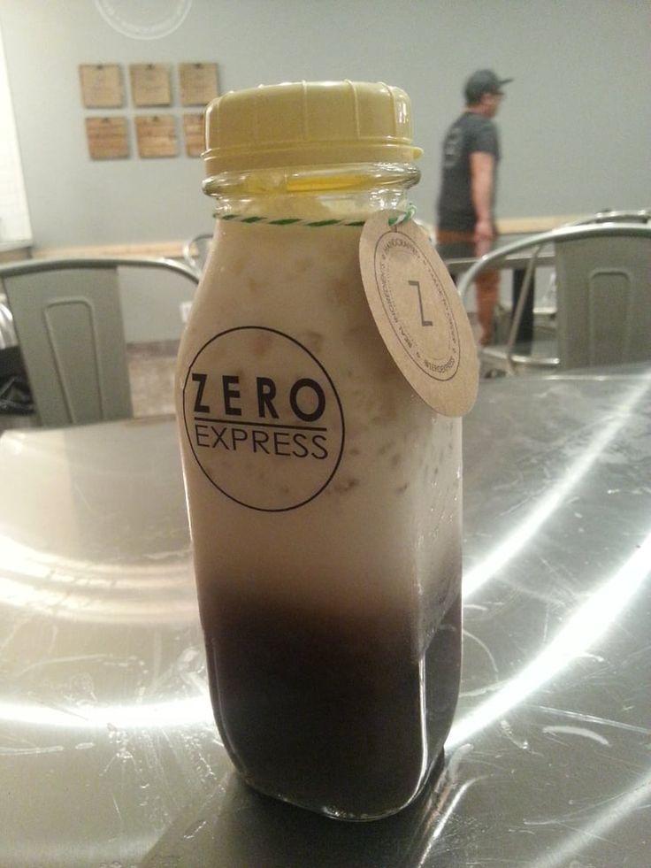 Photo of Zero Express - Long Beach, CA, United States. Ube Milk Tea