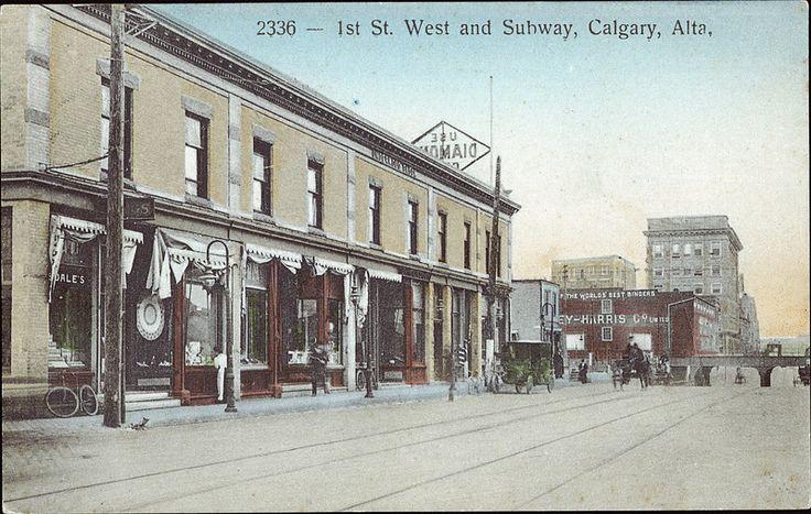 Postcard 5850: The Fair, 1st St. West and subway, Calgary, Alta. ([1912])