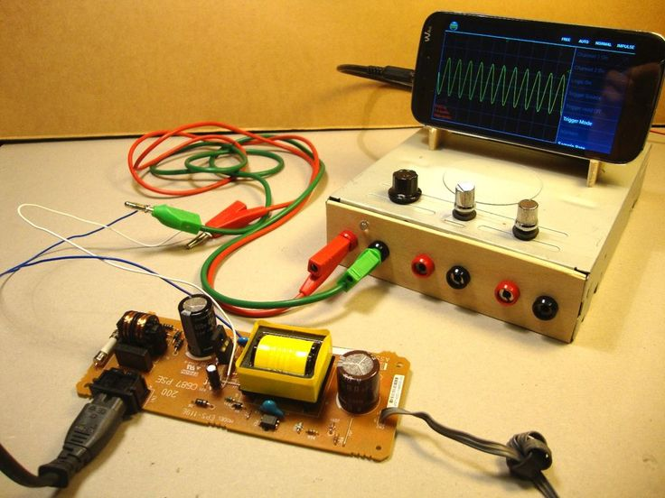 Use your Smartphone as an Oscilloscope / Signal Generator