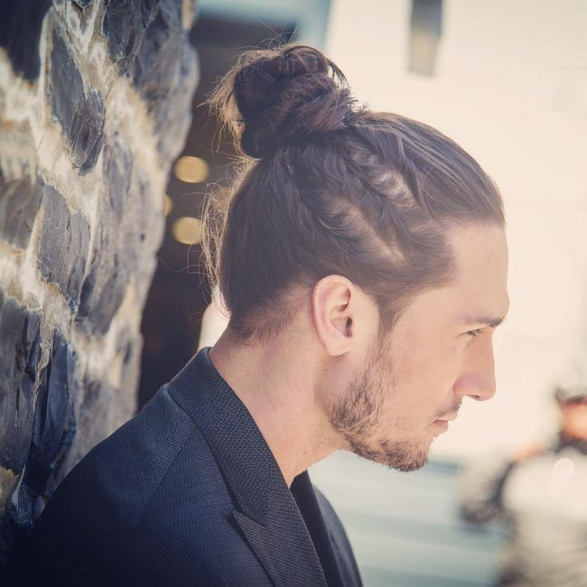 top knot hair styles best 20 braided bun ideas on mens braids 4096