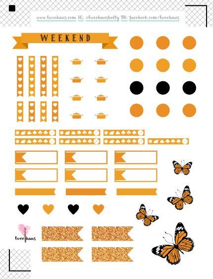 Pusheen Planner Stickers | A Melancholy Moose
